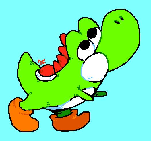 green lizard by Poop-Hat