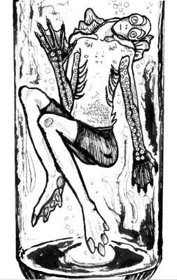 Abe Sapien -test tube fishman-