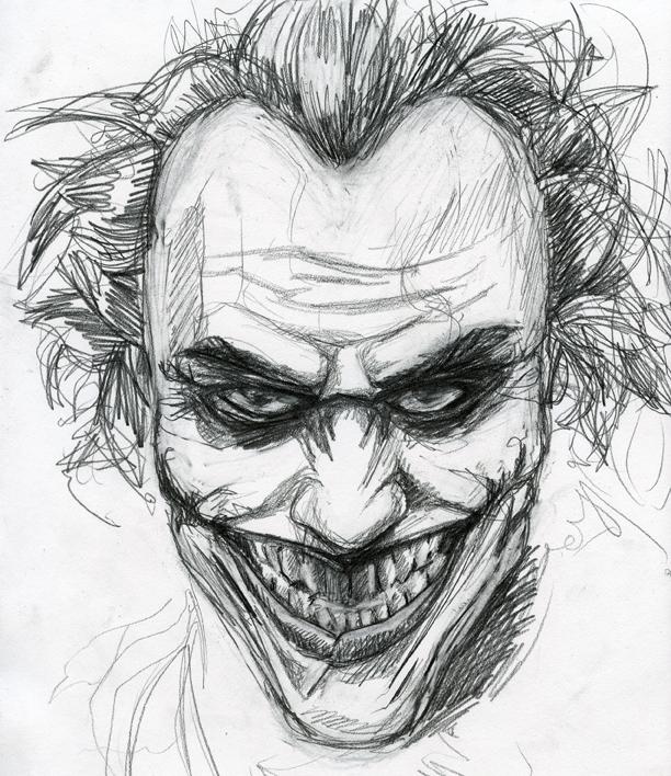 Joker Scribble Drawing : Joker sketch by jimothy bobert on deviantart