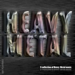 Heavy Metal CD Cover by kflakes15