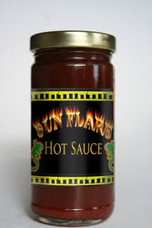 Hot sauce logo by kflakes15