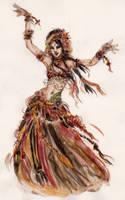 Belly dancer 1 by JenJens-Journey