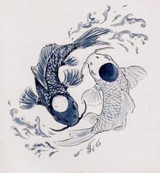 Yin Yang Koi