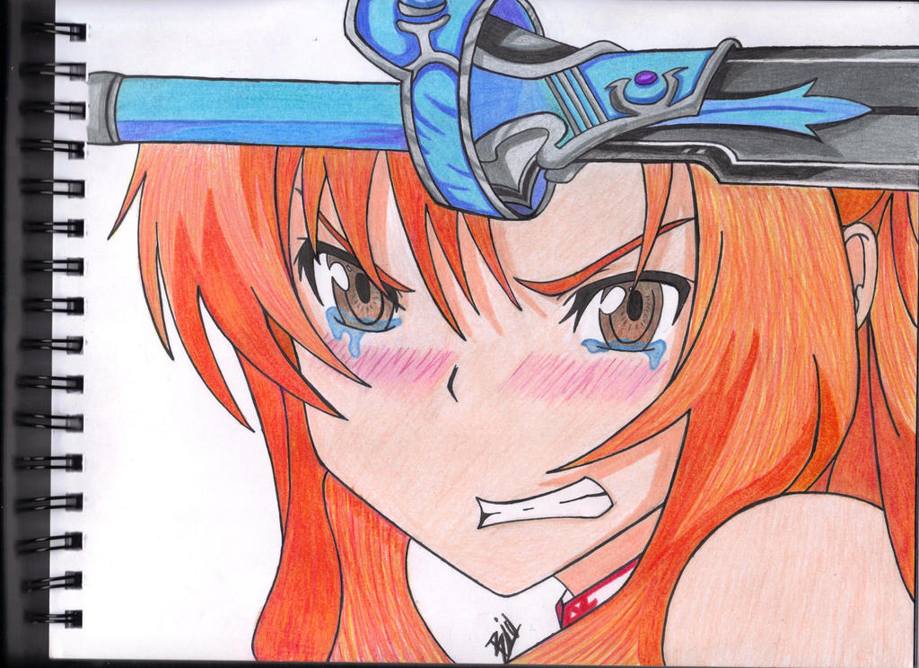 Sword Art Online Asuna Drawing/Colored by Biohazardisonline on ...