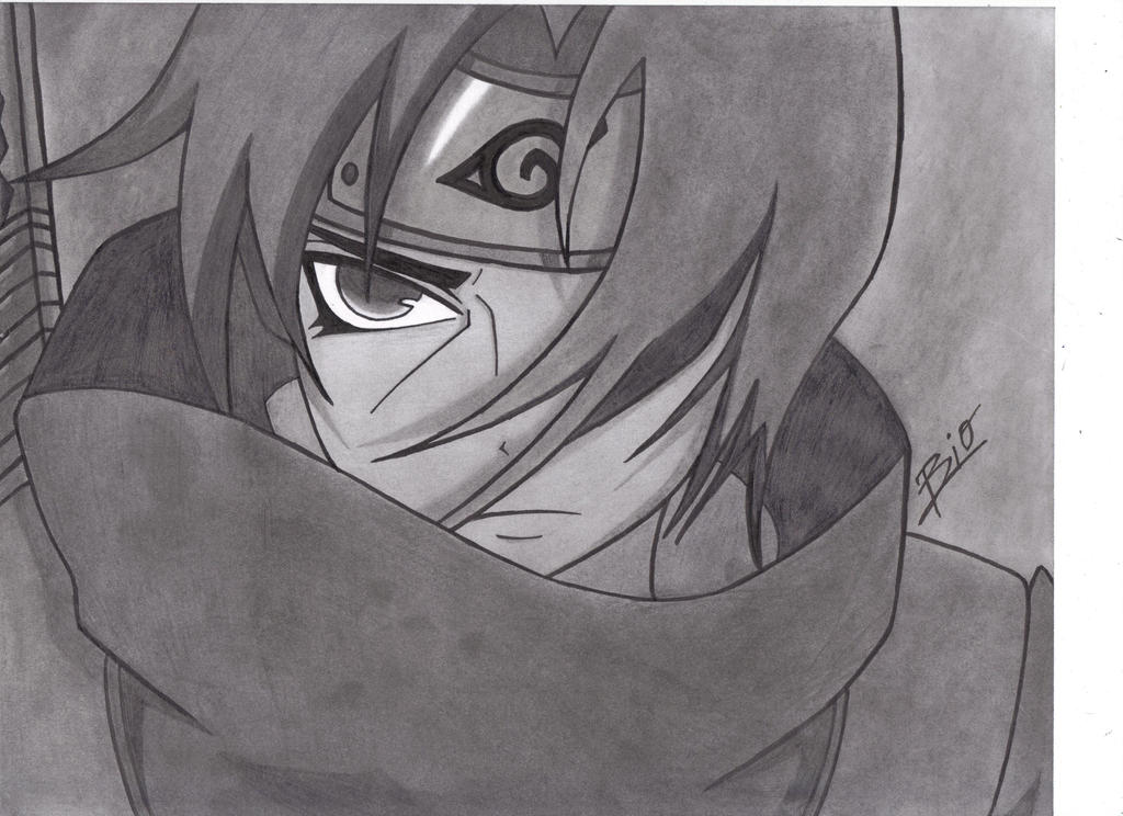Itachi Drawing by Bioh...