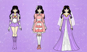 Sailor Lavender Saturn