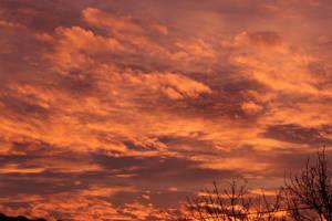 sunset sky by Mysti-S