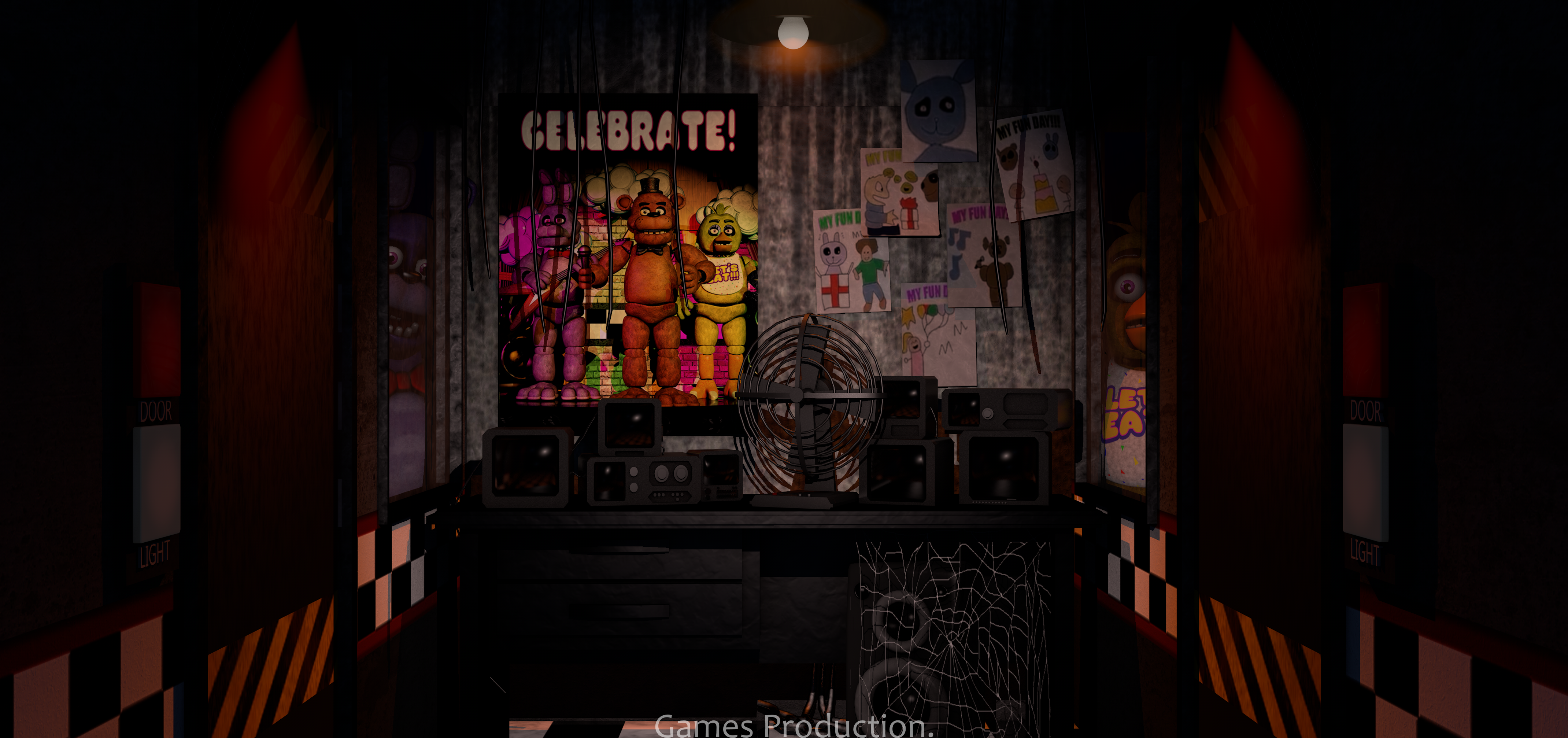 Lights Dining Room Fnaf 1 Office 4k By Gamesproduction On Deviantart