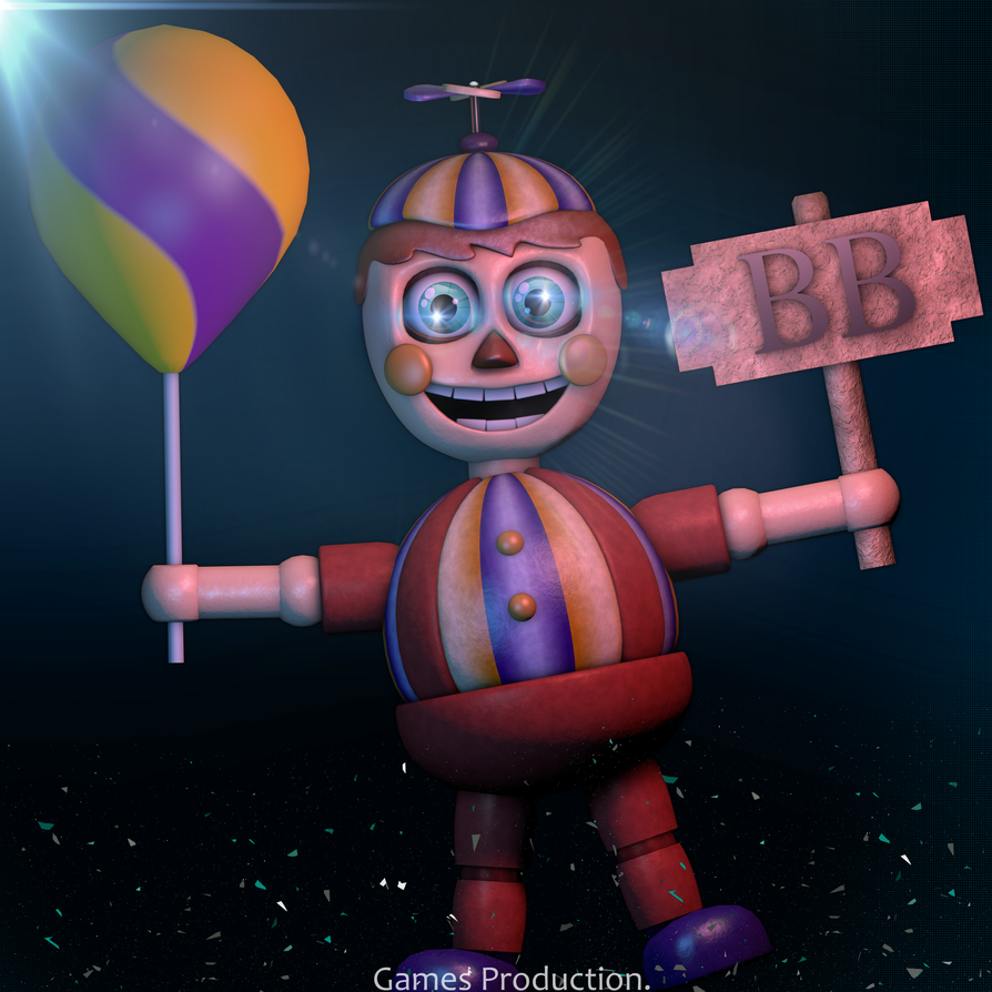 Stylized balloon boy 4k by gamesproduction on deviantart