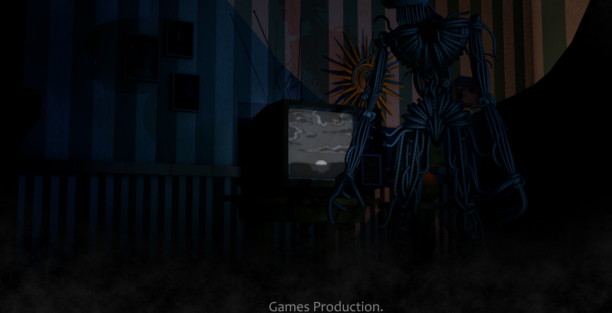 Fnaf Sl Cutscene S Room Download 4k By Gamesproduction