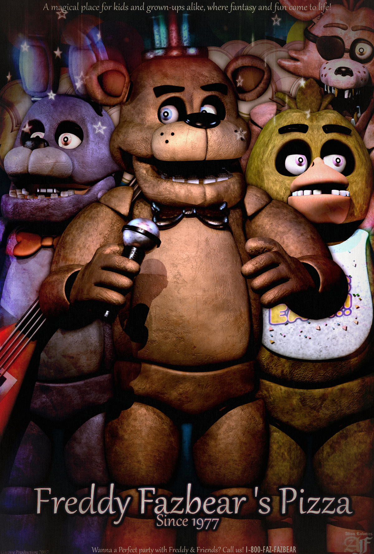 Best Of Five Nights At Freddy S Art Favourites By