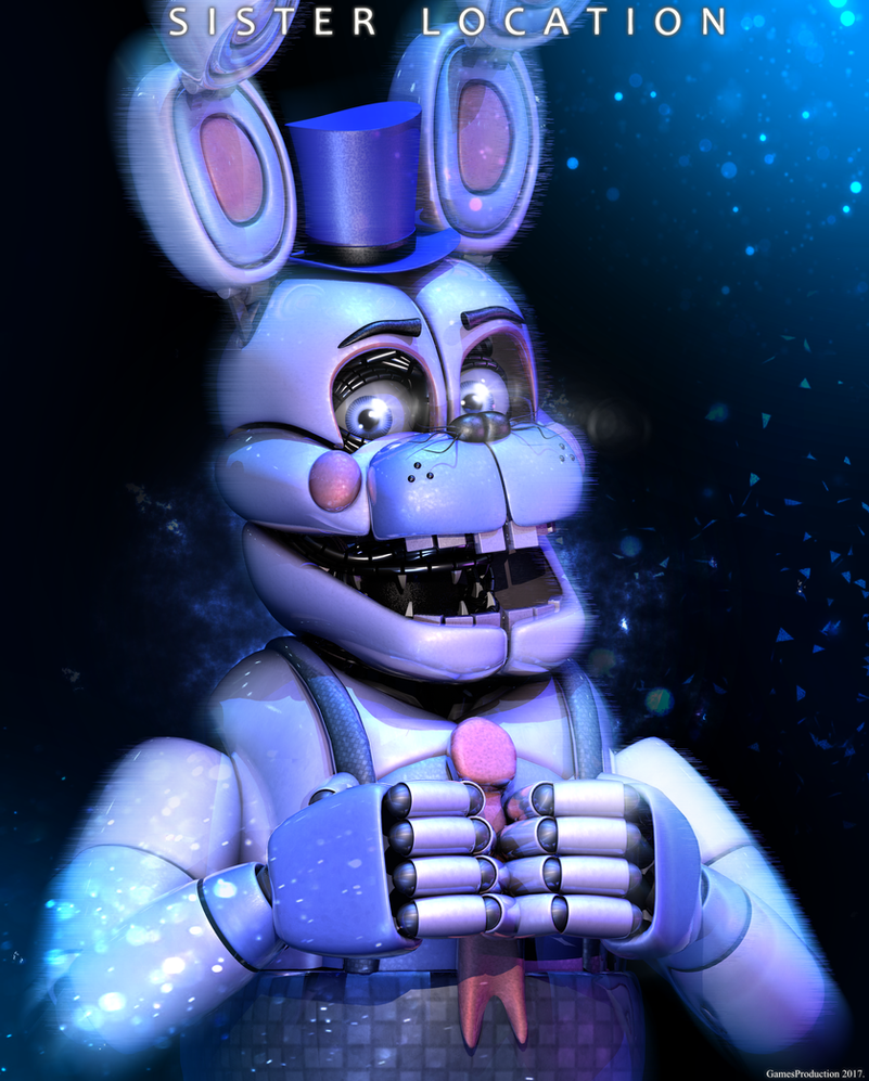 Funtime Bonnie by GamesProduction on DeviantArt