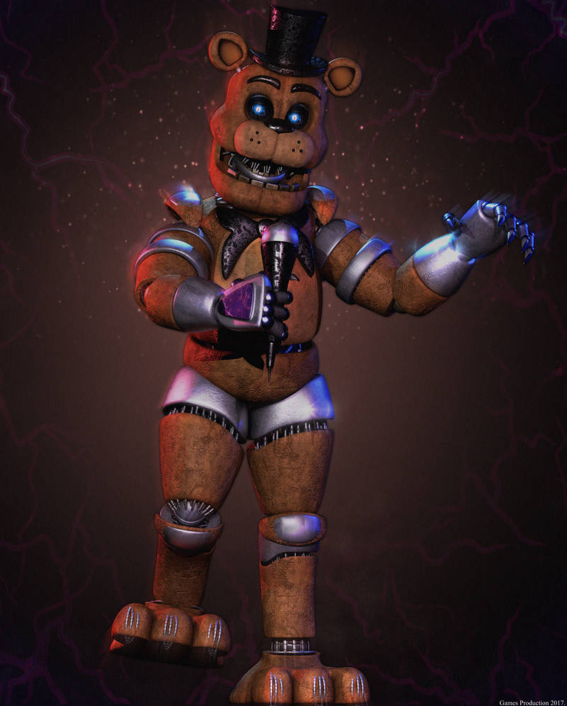 Advanced Freddy by GamesProduction on DeviantArt