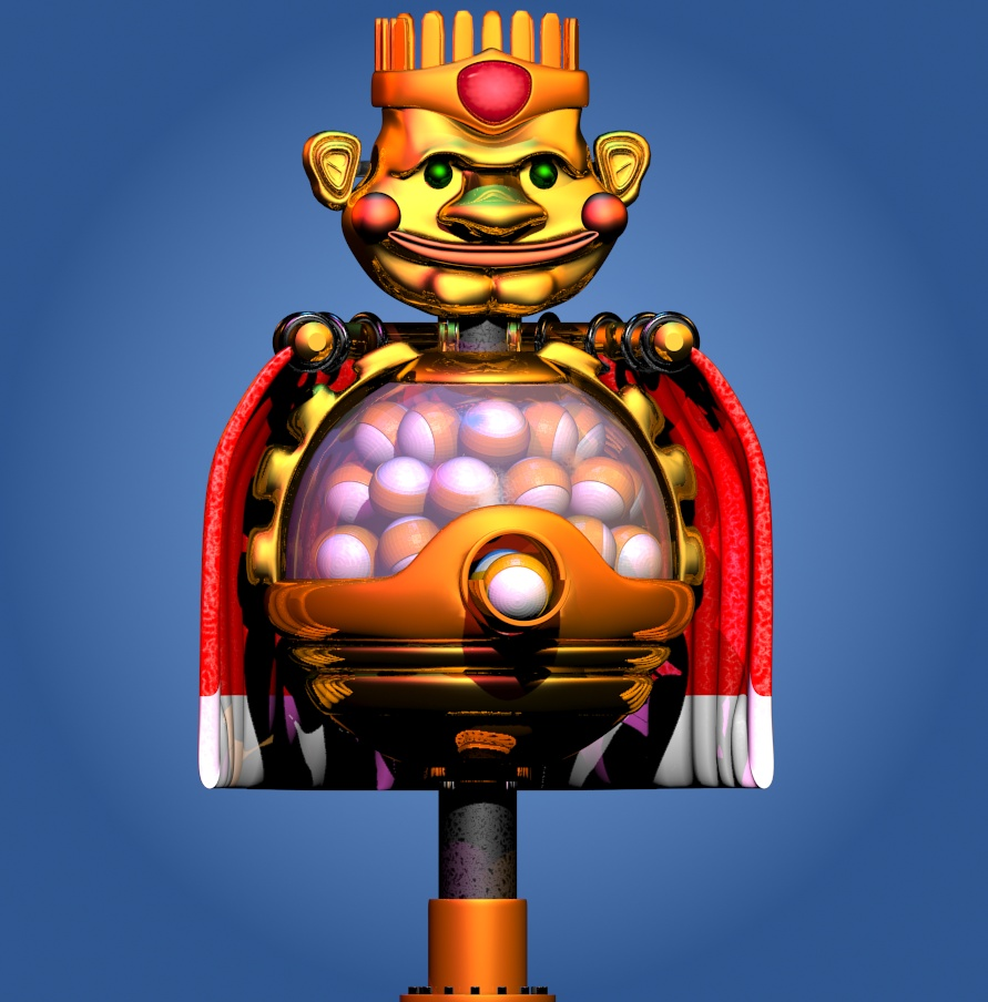 Fnaf 6 The Prize King By Gamesproduction On Deviantart