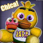 Plushie Chica