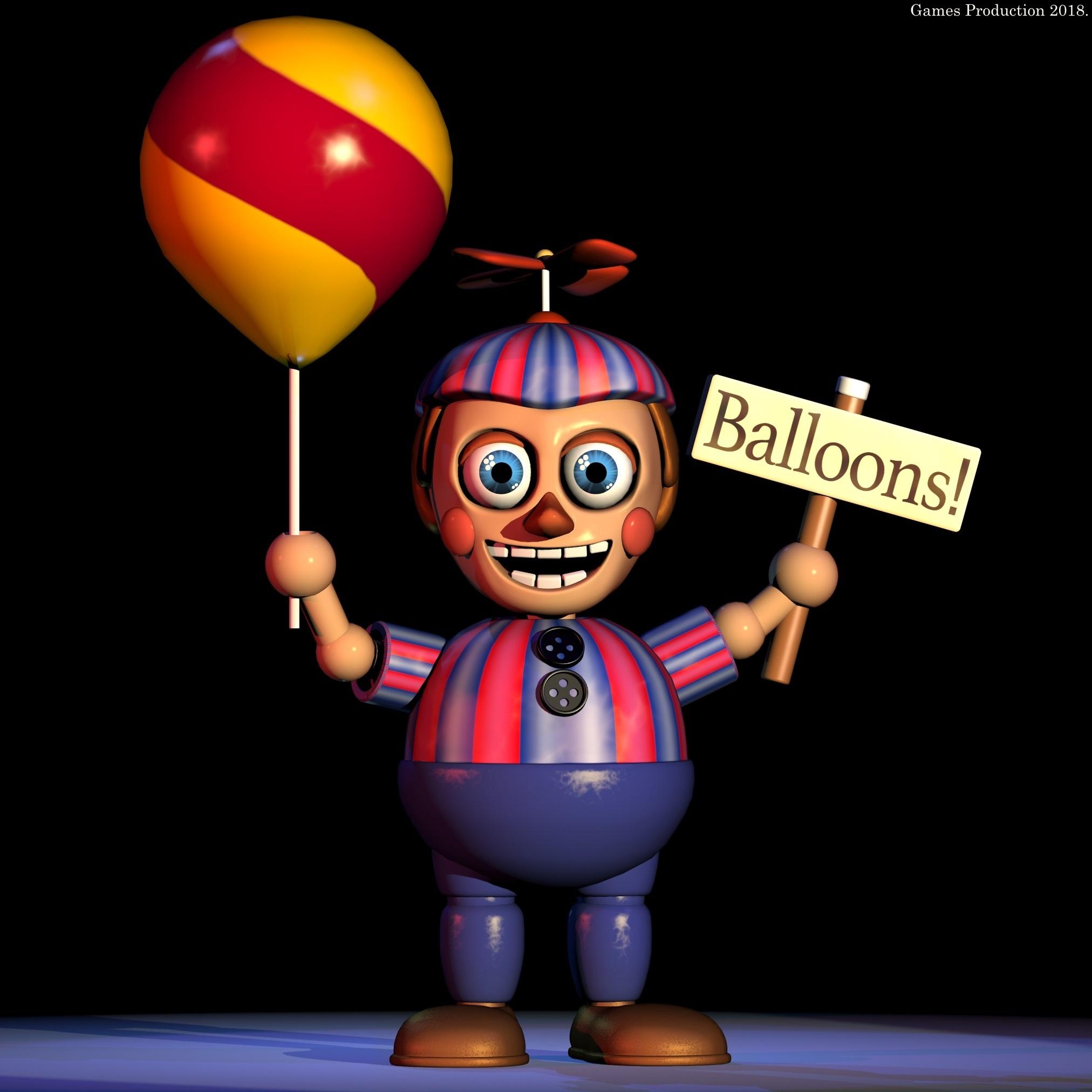 Balloon Boy By GamesProduction On DeviantArt