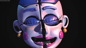 Ballora Jumpscare - TFF Render Remake by GamesProduction