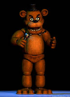 If FNaF 1 had a Extras - Freddy Fazbear by GamesProduction