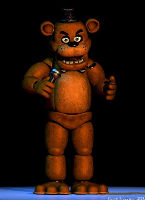 If FNaF 1 had a Extras - Freddy Fazbear by GamesProduction