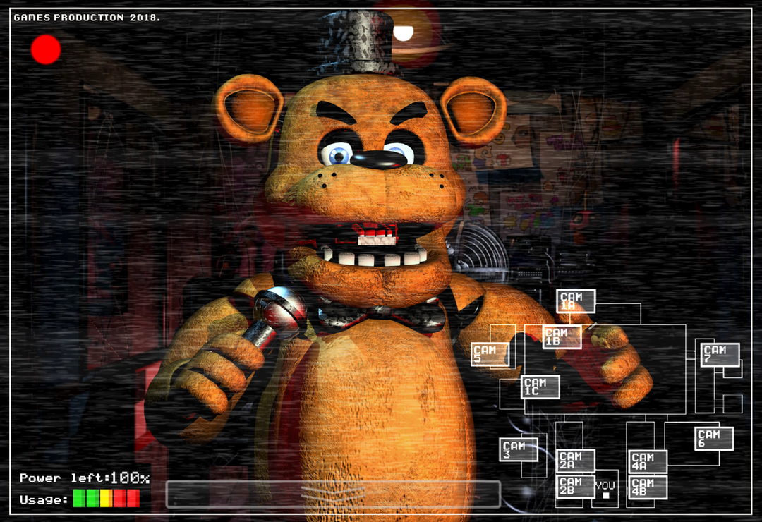Freddy Fazbear - Nostalgic  Wallpaper! by GamesProduction