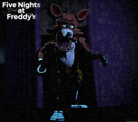 My Last Foxy model before VR! by GamesProduction