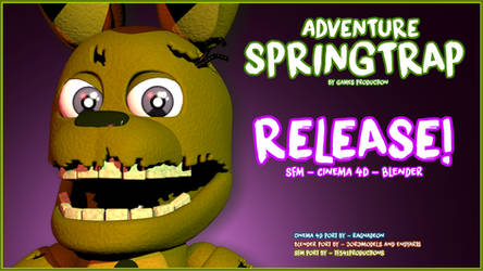 FNAF World - Adventure Springtrap RELEASE! by GamesProduction