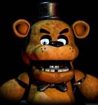 Freddy Fazbear - Fright Dome (Render REMAKE)