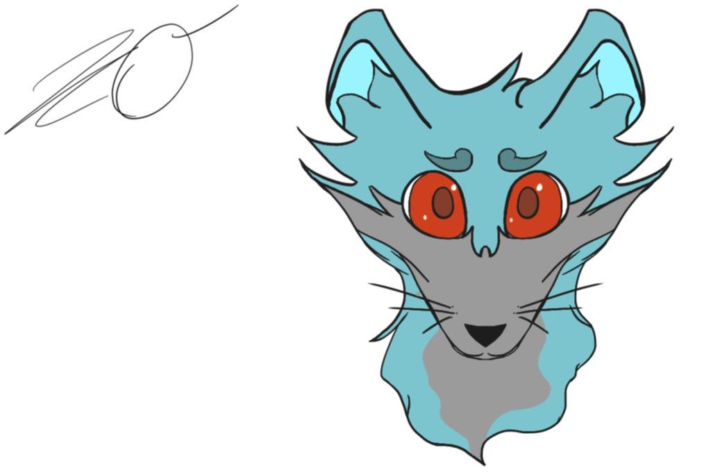 Fox OC Icon by Bron3Gamer