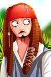 Captain Jack Sparrow by rcanary