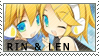 Stamp - VOCALOID Rin and Len by Silliest-Sarah