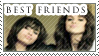 Stamp - Best Friends by Silliest-Sarah