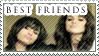 Stamp - Best Friends by Silliest-Sarah