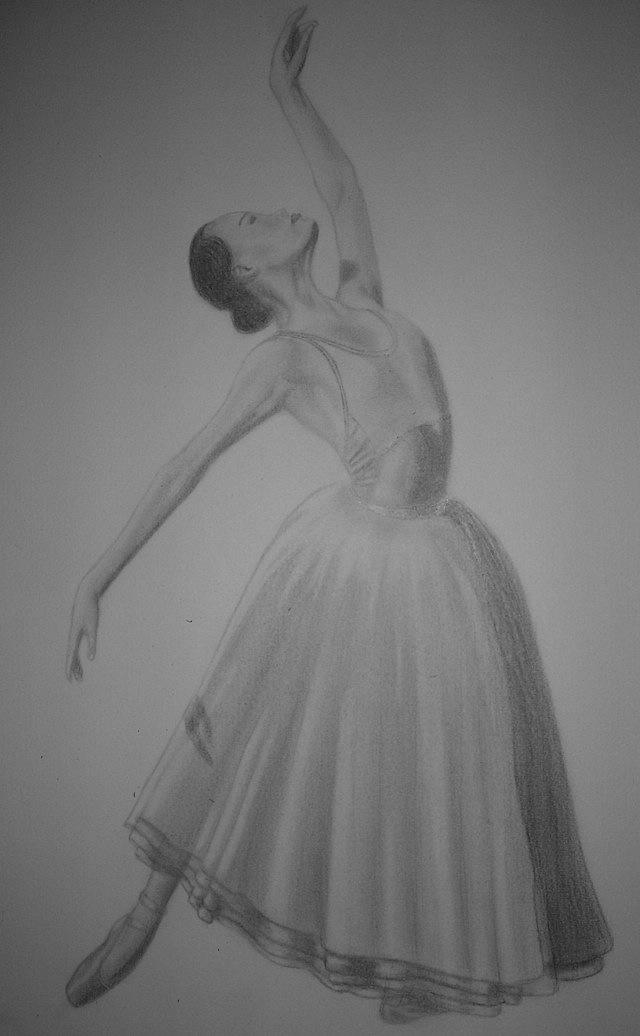 Danseuse classique by nymph 001 on deviantart - Dessin d une danseuse ...