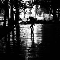 In the rain without you by mehrmeer