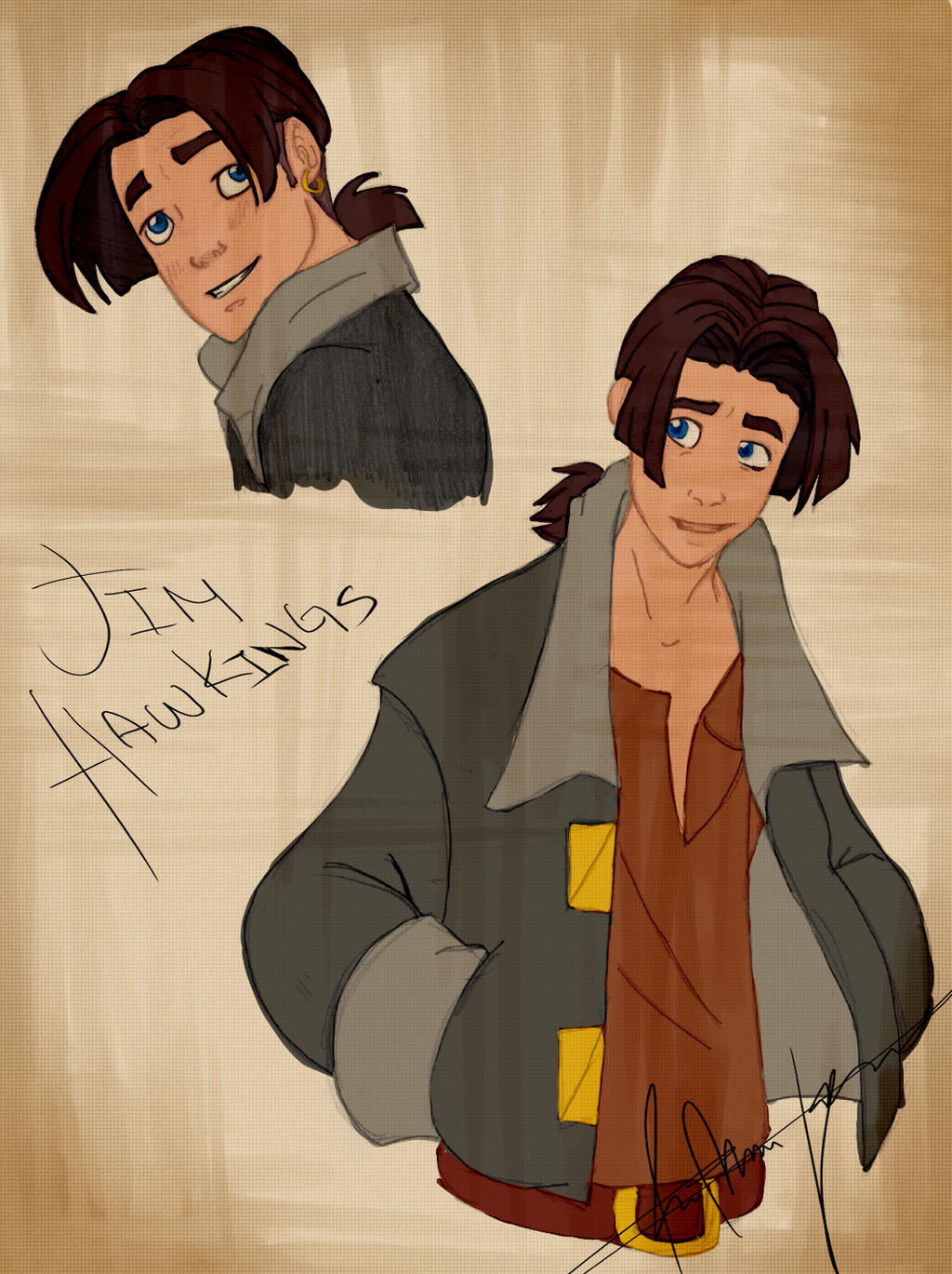 Treasure Planet Jim Hawkins By Saikias956 On Deviantart