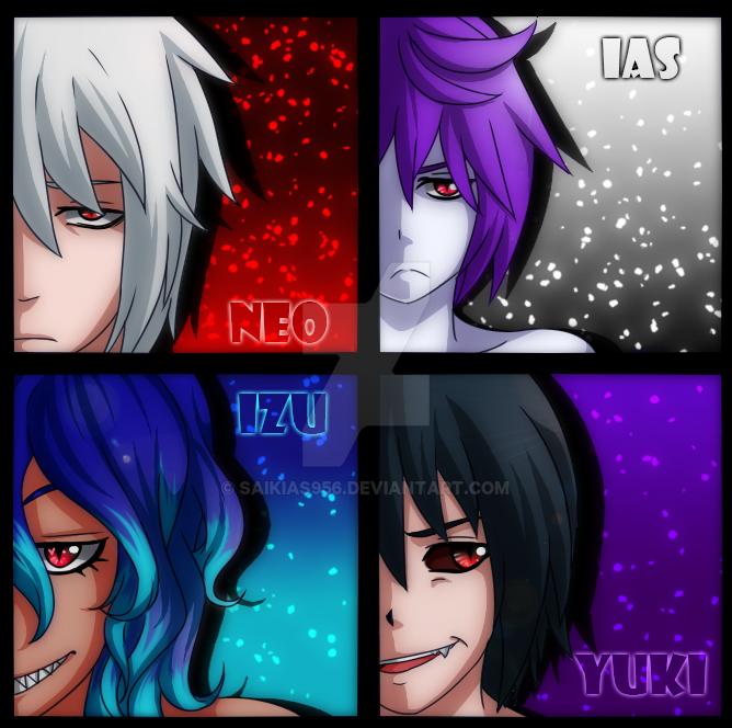 [UA] Demoniac Children by saikias956