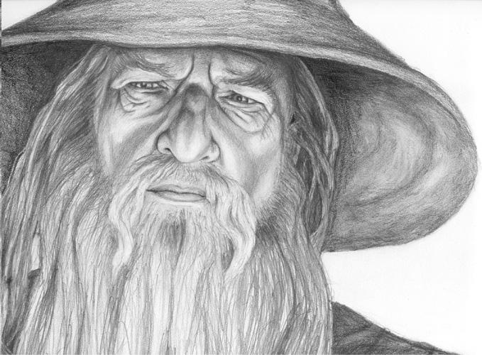 gandalf the gray coloring pages - photo#43