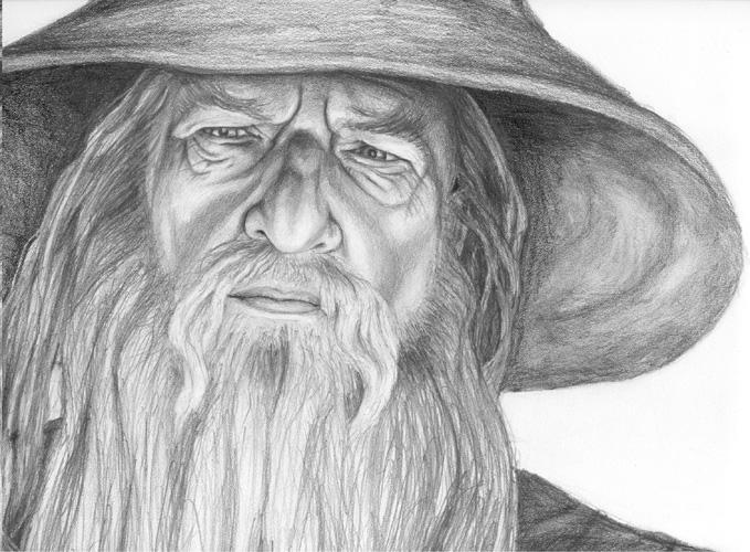Gandalf the Grey by babymint34