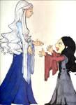 Arwen and Celebrian