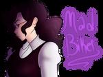 Doodle gift: Mad biker