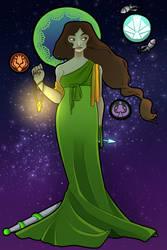Princess of Space (redo) by criaha