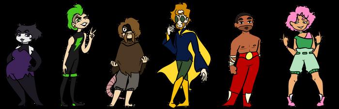 POP: Super Power Villains- alternate outfits