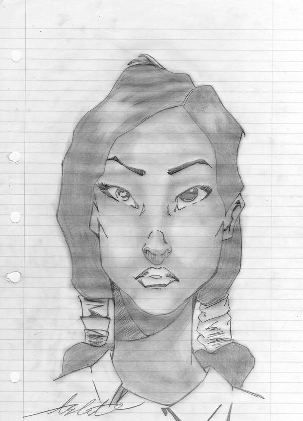 comic book lady by ashleys-secret