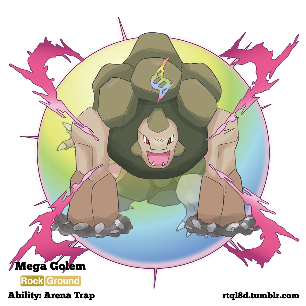 Mega Golem by rtql8d on DeviantArt