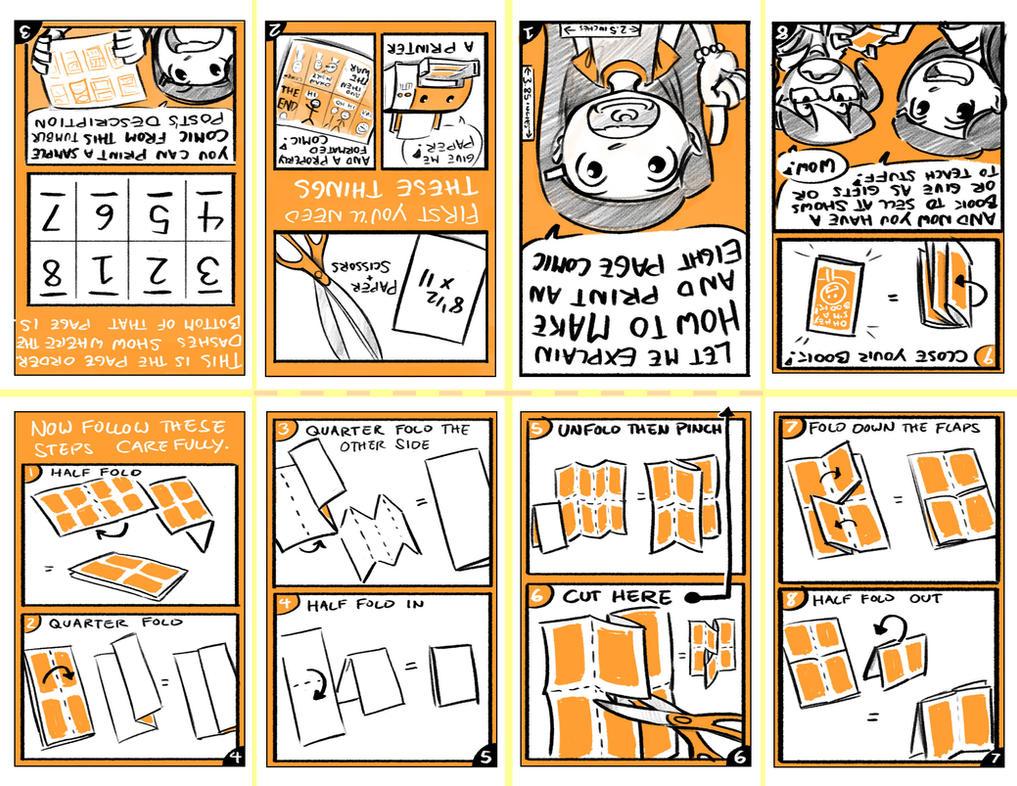 how to write comic books