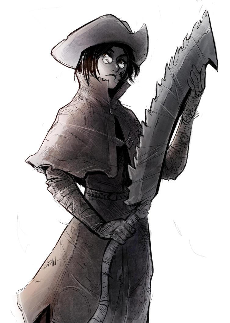 Bloodborne Sketch by Psuede