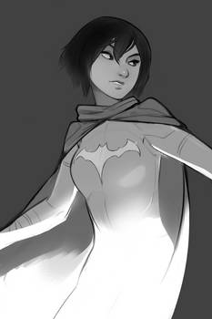 Look, I just like drawing Cassandra Cain