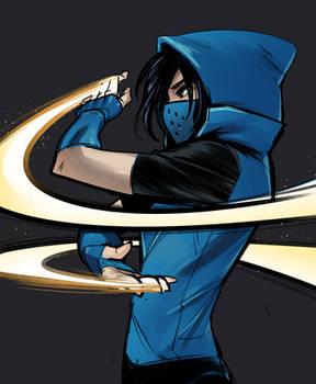 Cassandra Cain Blue
