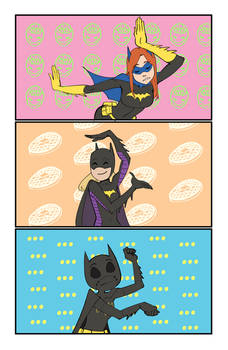 Keep Your Hands Off The Batgirls!