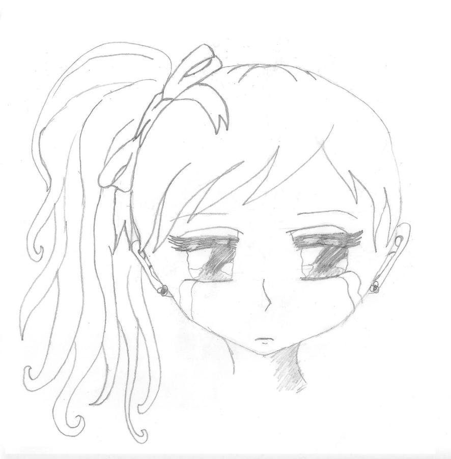 Easy sad drawings